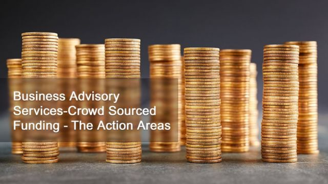 Business Advisory Services - Crowd Sourced Funding - The Action Areas