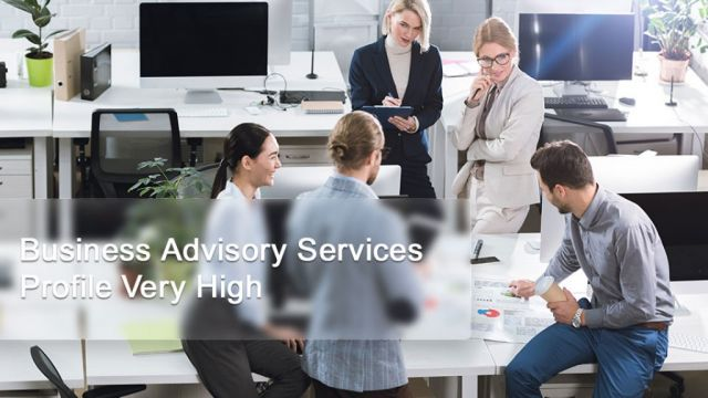 Business Advisory Services  Profile Very High