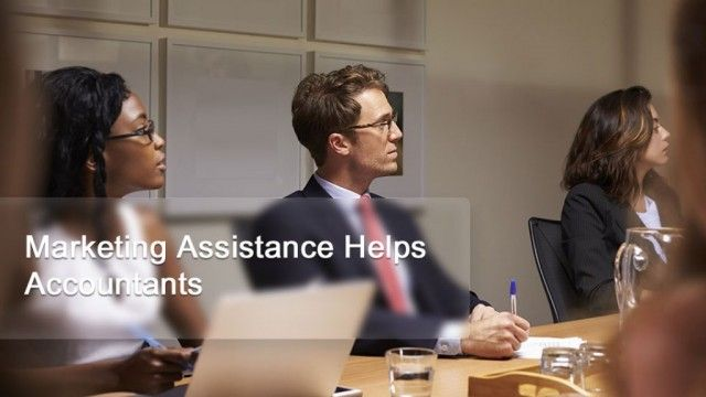 Marketing Assistance Helps Accountants