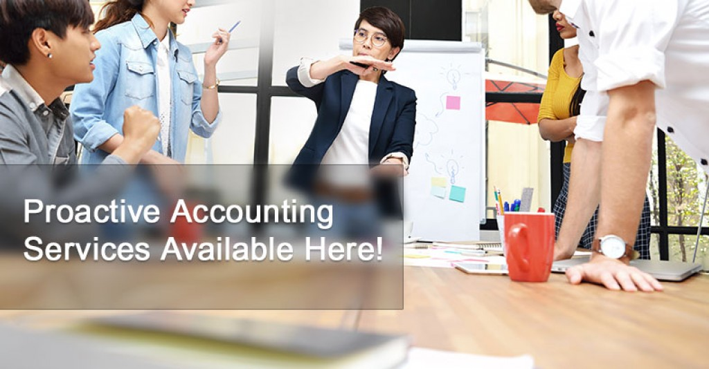 Proactive Accounting Services Available Here!