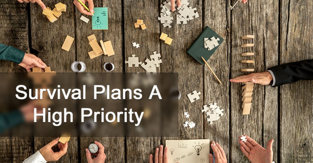 Survival Plans A High Priority